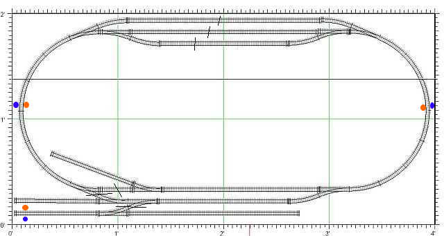 rmweb archive • view topic n gauge 4 x 2 plus track image
